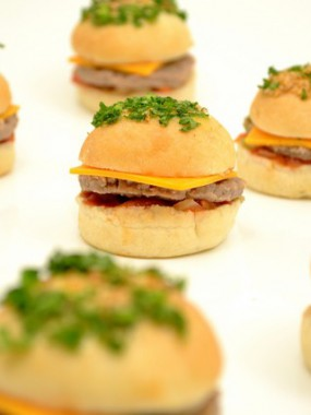 Barquette de 8 mini hamburgers