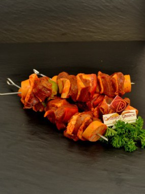 Brochette canard