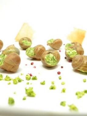 Escargots la douzaine