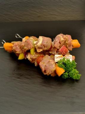 Brochette de filet mignon de porc